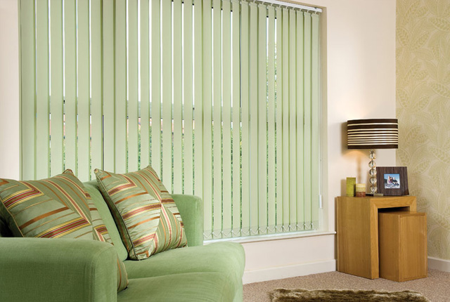 Colourful Vertical Blinds London