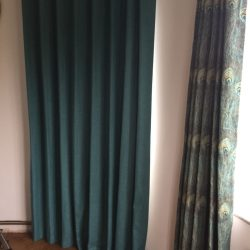 interlined wave curtains